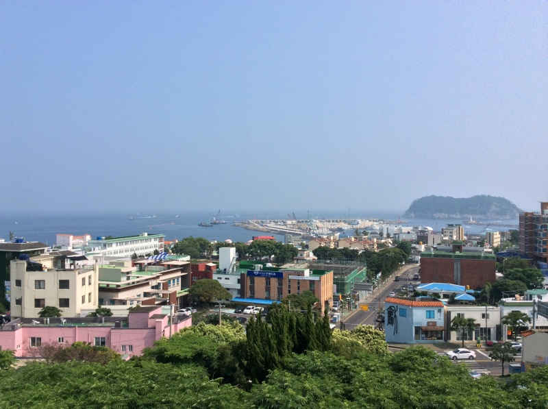 View of Seogwipo City