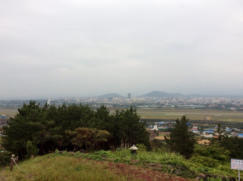 View of Jeju city
